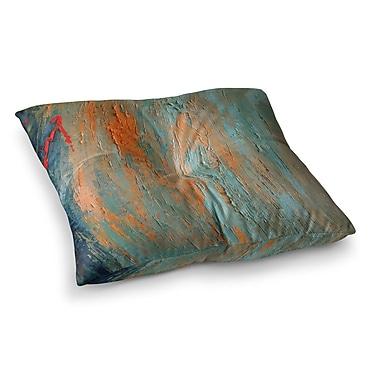 East Urban Home Desert Hues Painting by Carol Schiff Floor Pillow; 26'' x 26''