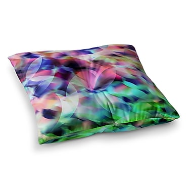 East Urban Home Party by Gabriela Fuente Floor Pillow; 23'' x 23''