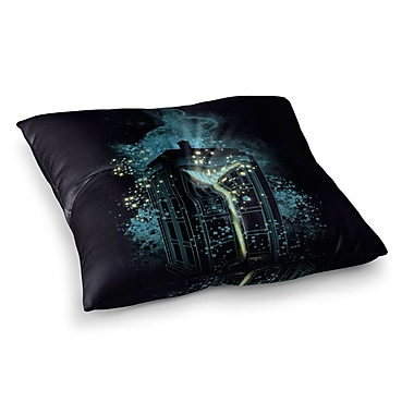 East Urban Home Regeneration is Coming by Frederic Levy-Hadida Floor Pillow; 26'' x 26''