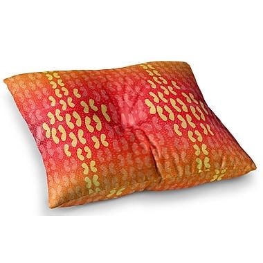 East Urban Home Butterfly Elements by Dan Sekanwagi Floor Pillow; 26'' x 26''