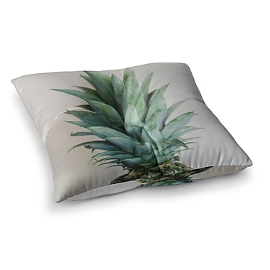 East Urban Home The Pineapple by Chelsea Victoria Floor Pillow; 23'' x 23''