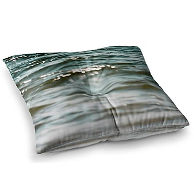 East Urban Home Water by Debbra Obertanec Floor Pillow; 23'' x 23''