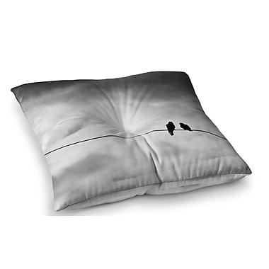 East Urban Home Friendship by Debbra Obertanec Floor Pillow; 26'' x 26''