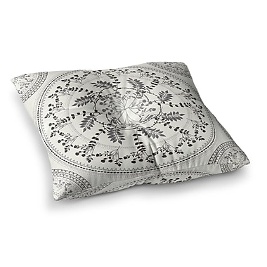East Urban Home Magical Vibes Boho Madellion by Famenxt Floor Pillow; 23'' x 23''