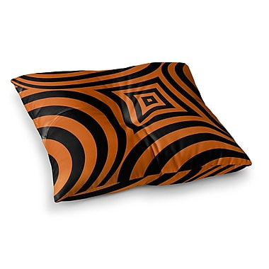 East Urban Home Symmetry in Disguise Digital by Fotios Pavlopoulos Floor Pillow; 26'' x 26''