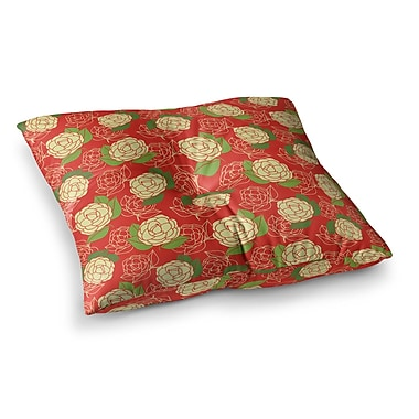 East Urban Home Cammelia by Holly Helgeson Floor Pillow; 23'' x 23''
