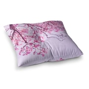 East Urban Home Magnolia Trees Branches by Iris Lehnhardt Floor Pillow; 26'' x 26''