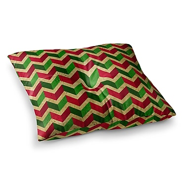 East Urban Home Herringbornaments Floor Pillow; 26'' x 26''