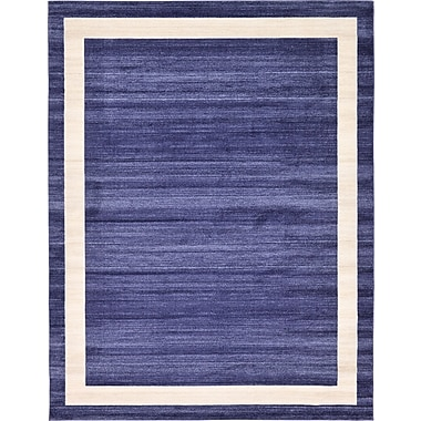 Orren Ellis Christi Blue/Beige Area Rug; 8' x 11'