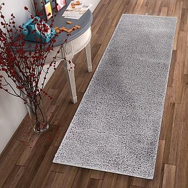Ebern Designs Dondre Gray Indoor Area Rug; 2' x 3'