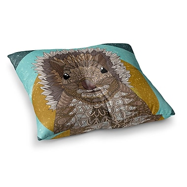 East Urban Home Squirrel by Art Love Passion Floor Pillow; 23'' x 23''
