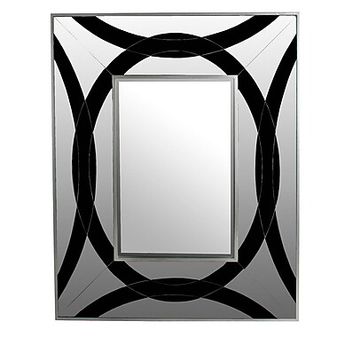 Orren Ellis Cheney Beveled Glass Rectangular Mirror