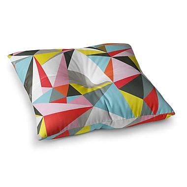 East Urban Home Mosaik Geometric by Fimbis Floor Pillow; 26'' x 26''