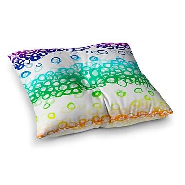 East Urban Home Pebble Row by Emine Ortega Floor Pillow; 26'' x 26''