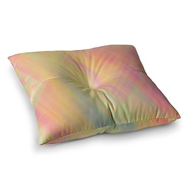 East Urban Home Pastel Abstract by Ingrid Beddoes Floor Pillow; 26'' x 26''