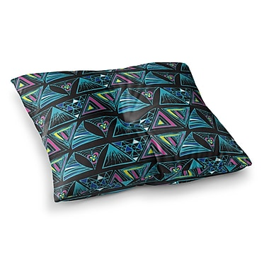 East Urban Home It's Complicated by Anneline Sophia Floor Pillow; 23'' x 23''