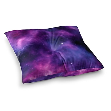 East Urban Home Infinity Fantasy by Chelsea Victoria Floor Pillow; 23'' x 23''