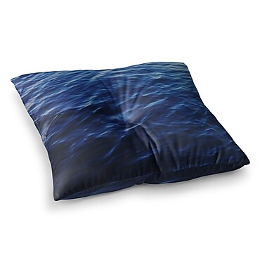 East Urban Home Sea Calm Nature by Chelsea Victoria Floor Pillow; 26'' x 26''