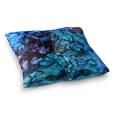 East Urban Home Lucid Dream by Claire Day Floor Pillow; 23'' x 23''