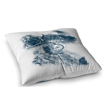 East Urban Home No Escape by Frederic Levy-Hadida Floor Pillow; 26'' x 26''