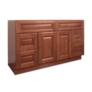 NGY Stone & Cabinet 60'' Single Bathroom Vanity Base