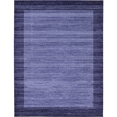 Orren Ellis Christi Blue Area Rug; 9' x 12'