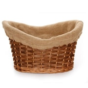 Alcott Hill Willow Wood and Wicker/Rattan Basket