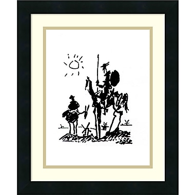 Loon Peak 'Don Quixote' by Pablo Picasso Framed Drawing Print