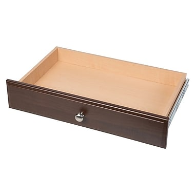 Easy Track Deluxe 24''W x 4''H Drawer; Truffle