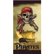 East Urban Home Buccaneer Pirates of the Caribbean Bath Towel (Set of 12)