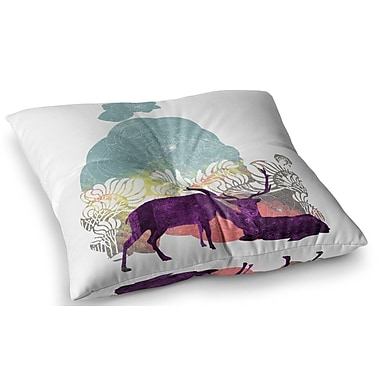 East Urban Home Tenderness by Frederic Levy-Hadida Floor Pillow; 23'' x 23''