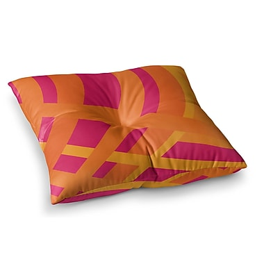 East Urban Home Tangled by Fotios Pavlopoulos Floor Pillow; 26'' x 26''