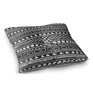 East Urban Home Redefined BW by Fimbis Floor Pillow; 23'' x 23''