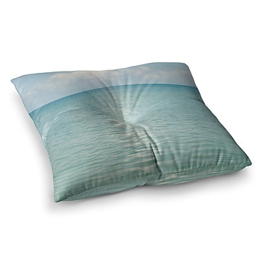 East Urban Home Cloud Reflection by Catherine McDonald Floor Pillow; 26'' x 26''