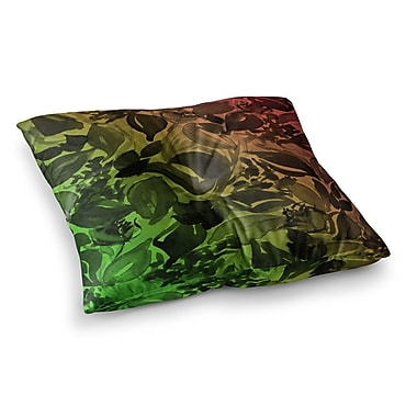 East Urban Home Blossoms Unchained 3 by Ebi Emporium Floor Pillow; 26'' x 26''