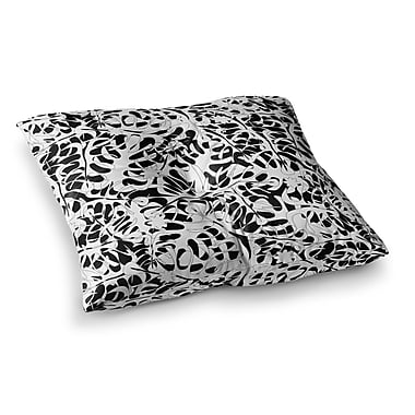 East Urban Home Leaves by Julia Grifol Floor Pillow; 23'' x 23''