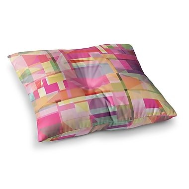 East Urban Home Paku Geometric by Fimbis Floor Pillow; 23'' x 23''