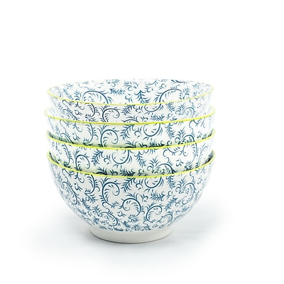 Tablescapes by Gaia Group LLC Thea Cereal Bowl (Set of 4)