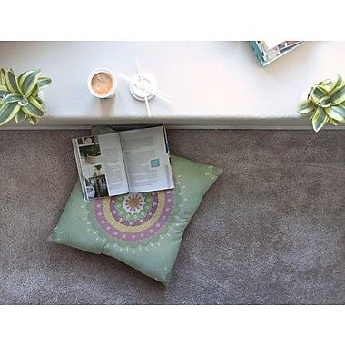 East Urban Home Mandala Design Illustration by Cristina Bianco Design Floor Pillow; 26'' x 26''