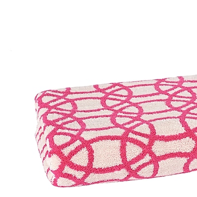 Scion Lace Bath Towel; Crocus