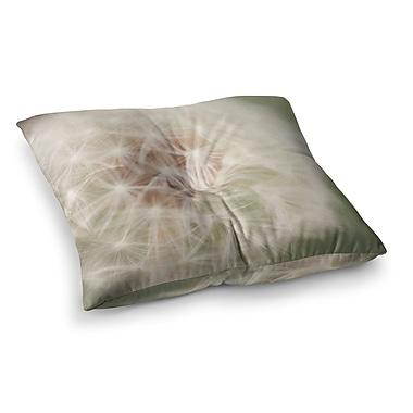 East Urban Home Dandelion by Catherine McDonald Floor Pillow; 23'' x 23''