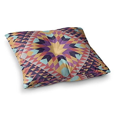 East Urban Home Ticky Ticky by Danny Ivan Floor Pillow; 26'' x 26''