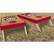 WestGeorgiaCornhole University of Georgia Classic New Dawg 10 Piece Cornhole Set