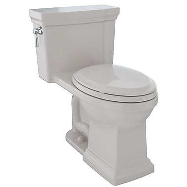Toto Promenade II Dual Flush Elongated Two-Piece Toilet; Sedona Beige