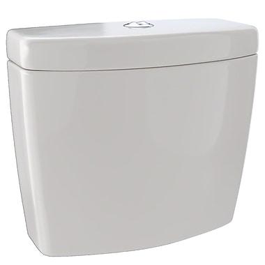 Toto Aquia Dual-Max Dual Flush Toilet Tank; Sedona Beige