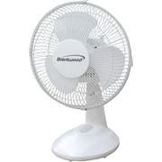 BrentwoodKoolZone 9'' Oscillating Table Fan