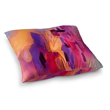 East Urban Home Pungent Euphoria by Geordanna Fields Floor Pillow; 26'' x 26''