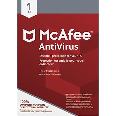 McAfee Canada – Logiciel AntiVirus 1 PC [téléchargement]
