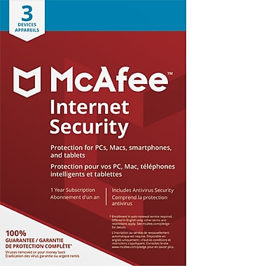 McAfee Canada Internet Security 3 Device [Download]
