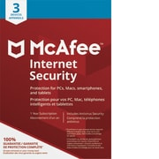 McAfee Canada 2018 Internet Security, 3 dispositifs (téléchargement)